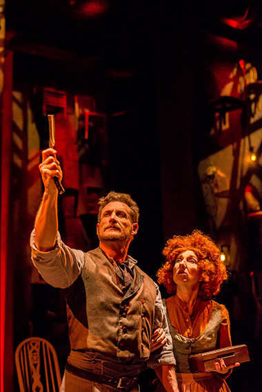 Aloysius Gigl and Jeni Hacker in Zoetic Stage's