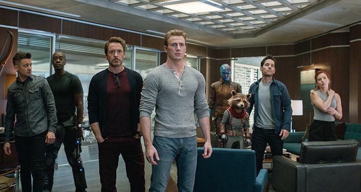 Jeremy Renner, Don Cheadle, Robert Downey Jr., Chris Evans, Karen Gillan, Bradley Cooper (voice of), Paul Rudd, Scarlett Johansson