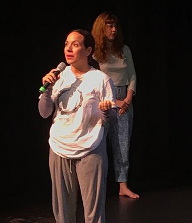Rosie Hererra speaking in Portland.