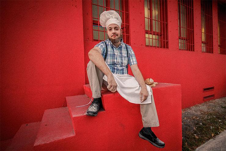 The Baker: Chris Krider