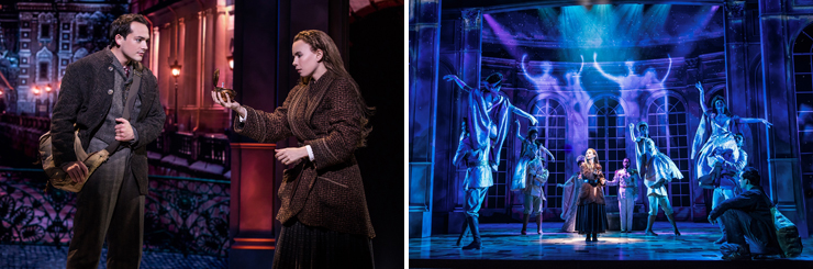 Photo (LEFT): Lila Coogan (Anya) and Stephen Brower (Dmitry) in the National Tour of