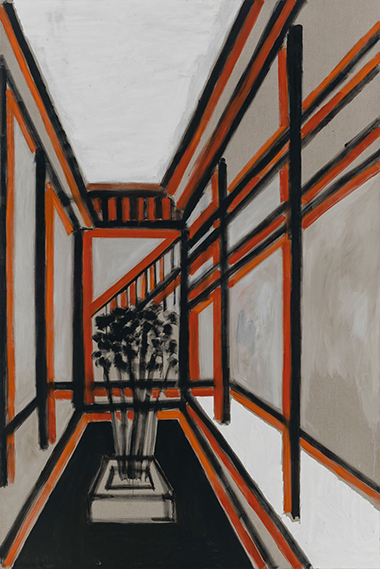 A Corridor of the Classroom, 2014, oil on canvas, Frank F. Yang Foundation, Guangzhou