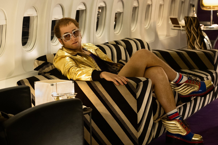 Taron Egerton as Elton John in