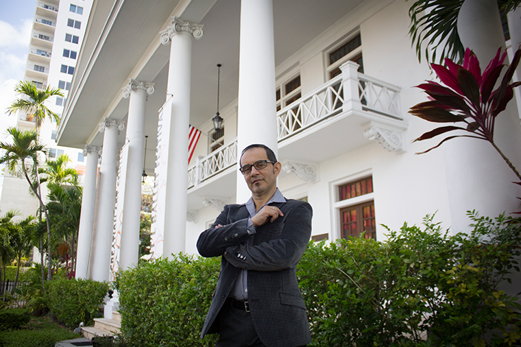 Eriberto Jimenez is the General Director of the Miami Hispanic Cultural Arts Center.