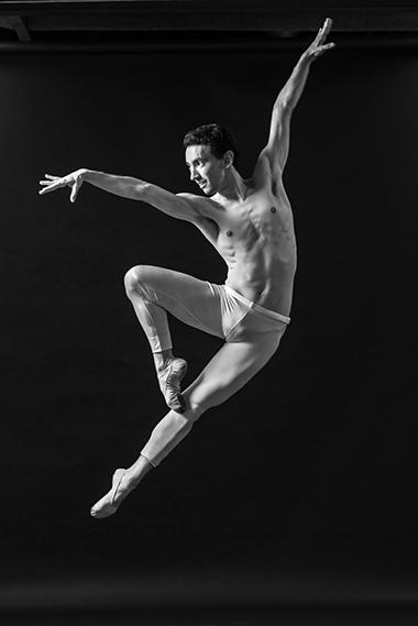 Dancer Yanis Eric Pikieris, Photo (c) Luis Corona, courtesy of Dimensions Dance Theatre of Miami
