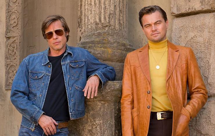 Brad Pitt, Leonardo DiCaprio in