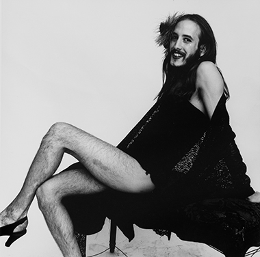 PETER HUJAR, DANIEL WARE (COCKETTE), 1971. Leslie-Lohman Museum of Gay and Lesbian Art, Gift of the Peter Hujar Archive, LLC 2013.181.19. Image courtesy Pace/MacGill Gallery, New York, and Fraenkel Gallery, San Francisco, 1987 The Peter Hujar Archive LLC