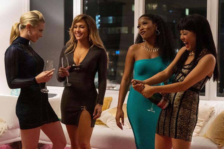 Lili Reinhart, Jennifer Lopez, Keke Palmer, Constance Wu in