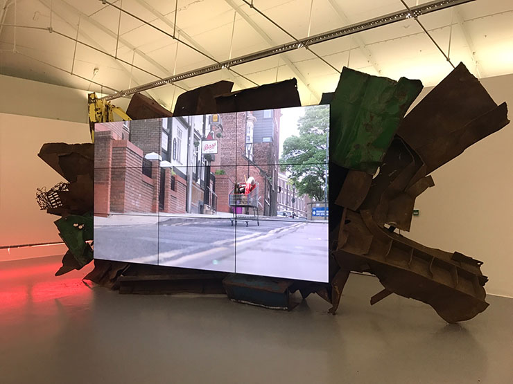 SCAI The Bathhouse | Moon and Jeon, Anormally Strolls II, 2018, installation view at Tate Liverpool | © SCAI The Bathhouse Look for it in the Galleries Sector of Art Basel Miami Beach.