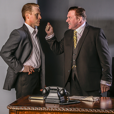 Stephen G. Anthony and Iain Batchelor in GableStage's