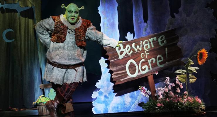 Wesley Slade as Shrek in