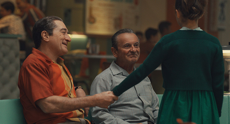 Robert De Niro Joe Pesci, Lucy Gallina