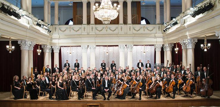 National Symphony Orchestra of Ukraine.  Photo courtesy of Artist Management.