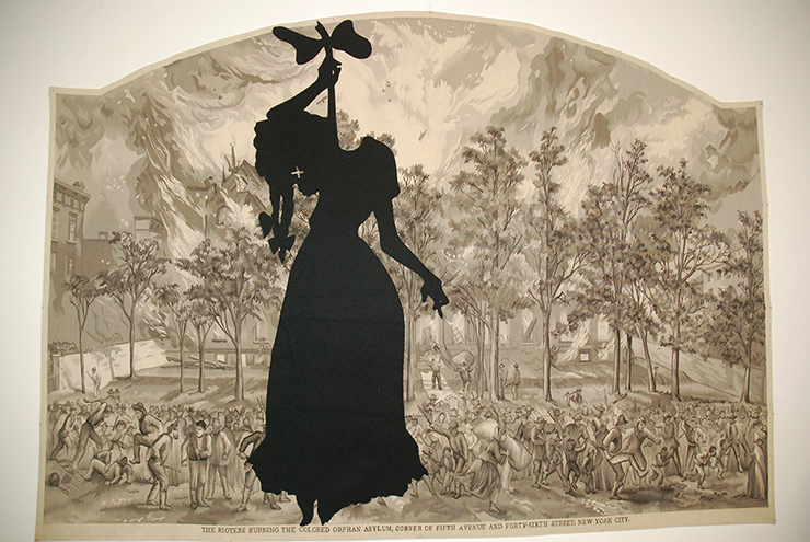Kara Walker, A Warm Summer Evening in 1863, Spruth Magers Gallery(Galleries sector)