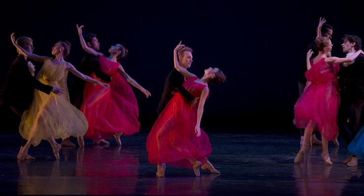 Miami City Ballet dancers in Alexei Ratmansky's