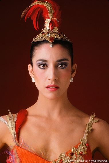 Artistic Director Lourdes Lopez performed the role of Firebird with the New York City Ballet.
