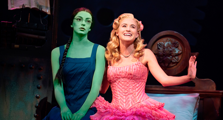 Wicked - Allison Bailey & Talia Suskauer in the North American Tour of WICKED. Photo by Joan Marcus