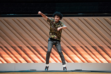 2020 YoungArts Winner in Dance Andre Imanishi | Photo by Em Watson