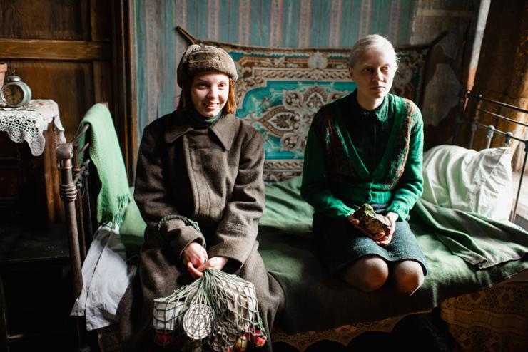Vasilisa Perelygina, Viktoria Miroshnichenko. Courtesy Kino Lorber.