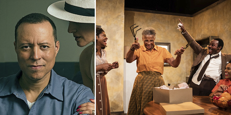 Left, nominated for Best New Work is Miami New Drama's
