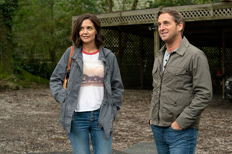 Katie Holmes and Josh Lucas in