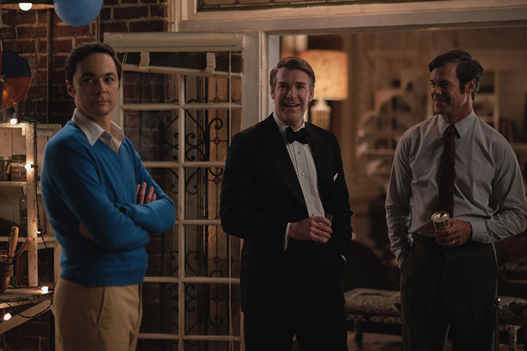 Jim Parsons, Brian Hutchison, Tuc Watkins