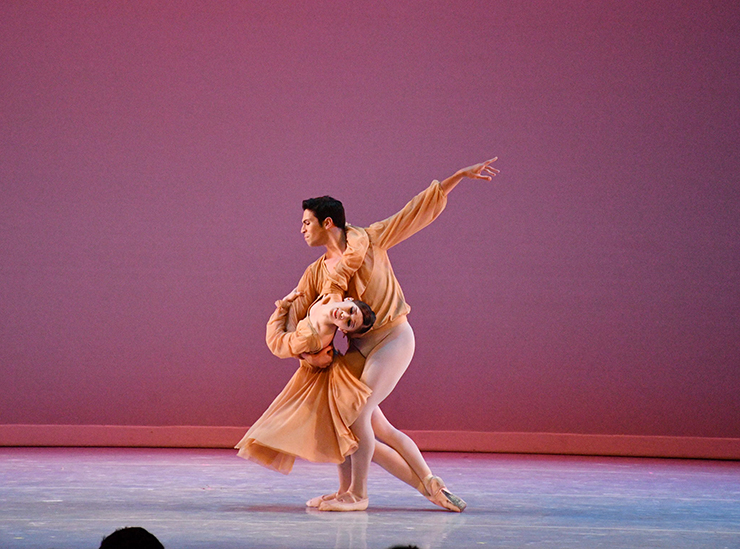 Arts Ballet Theater, Our Waltzes, dancers Janis Liu and Johnny Almeida, courtesy of company.