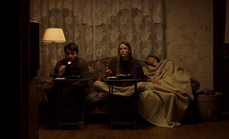 Patrick Fugit, Ingrid Sophie Schram, Owen Campbell (Courtesy Dark Sky Films)