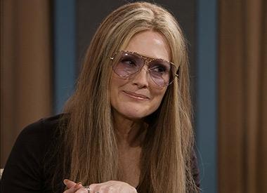 Julianne Moore as Gloria Steinem in