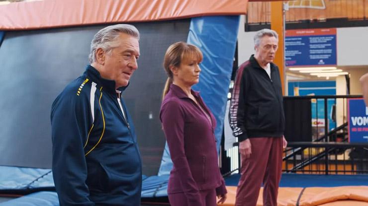 Robert De Niro, Jane Seymour and Christopher Walken in