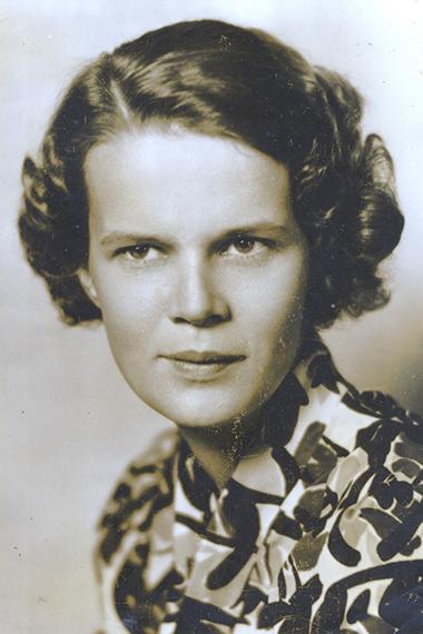 Jane Wood, circa early 1930s