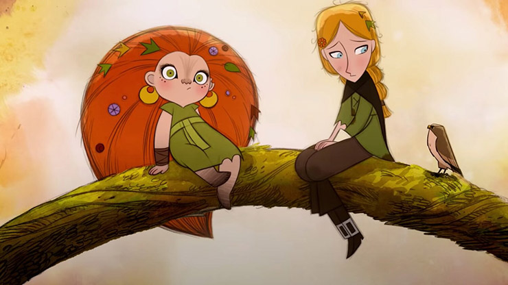 Eva Whittaker, Honor Kneafsey (voices of) - Courtesy GKIDS/Apple TV+