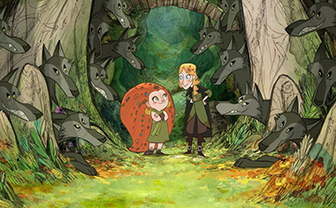 Eva Whittaker, Honor Kneafsey (voices of) - Courtesy Apple TV+/GKIDS