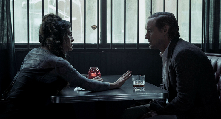Salma Hayek and Owen Wilson in a scene from