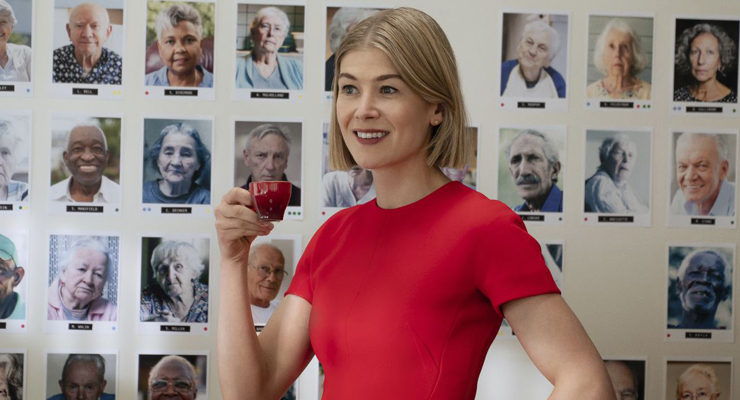 Rosamund Pike in a scene from