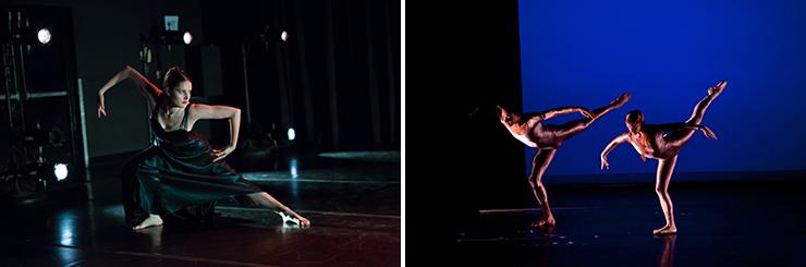 Left, Amy Deer in Dance Now! Miami's