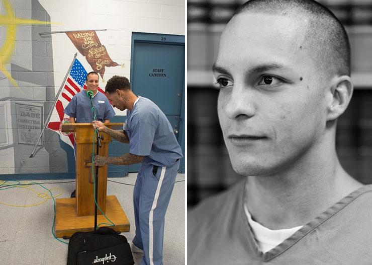 Christopher Malec is this year's Luis Hernandez Florida Prison Poet Laureate.