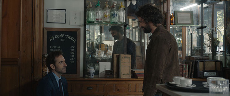 Pepe Ocio and Iván Sánchez in a scene from