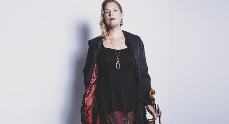 Composer Jessica Meyer's Slow Burn is on Saturday's program. (Photo by Dario Acosta)