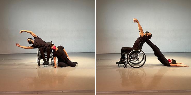 Jesus Vidal and Penelope Huerta of Karen Peterson and Dancers (photo by Karen Peterson)