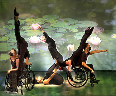 Karen Peterson dancers, Shawn Buller, Ximena England, Barny Espinal, Vanessa Dunleavy, Penelope Huerta and Jesus Vidal in