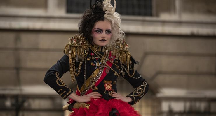 Emma Stone as Cruella in Disney's live-action