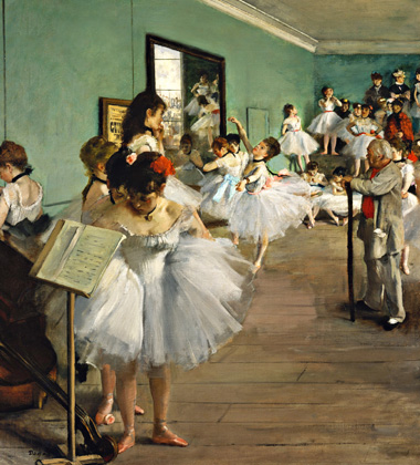 The Dance Class by Degas - Lasting Impressions 3D - Photo courtesy of Princeton Entertainment Group.