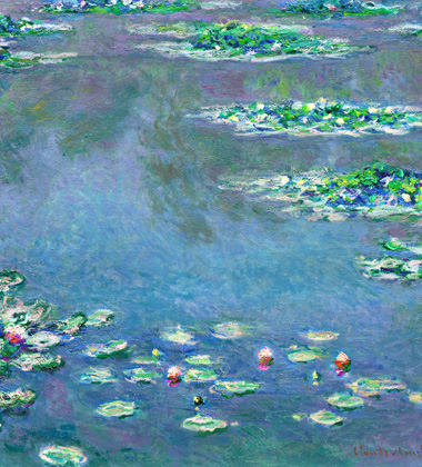 Water Lilies by Monet - Lasting Impressions 3D - Photo courtesy of Princeton Entertainment Group.