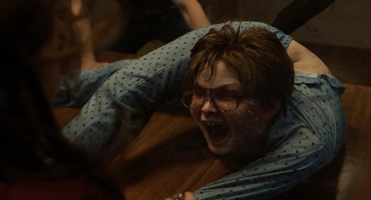 Julian Hilliard as David Glatzel in a scene from