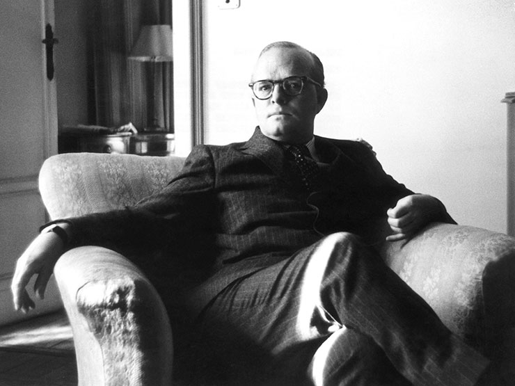 Truman Capote (Photo Getty Images, provided by Kino Lober).