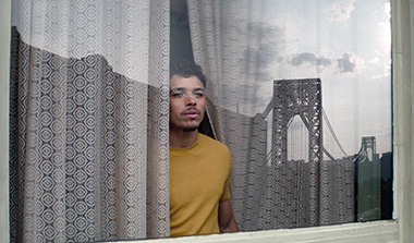 Anthony Ramos as Usnavi in a scene from
