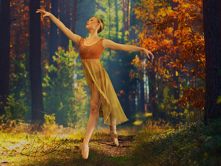 Selah Jane Oliver portraying Fall in