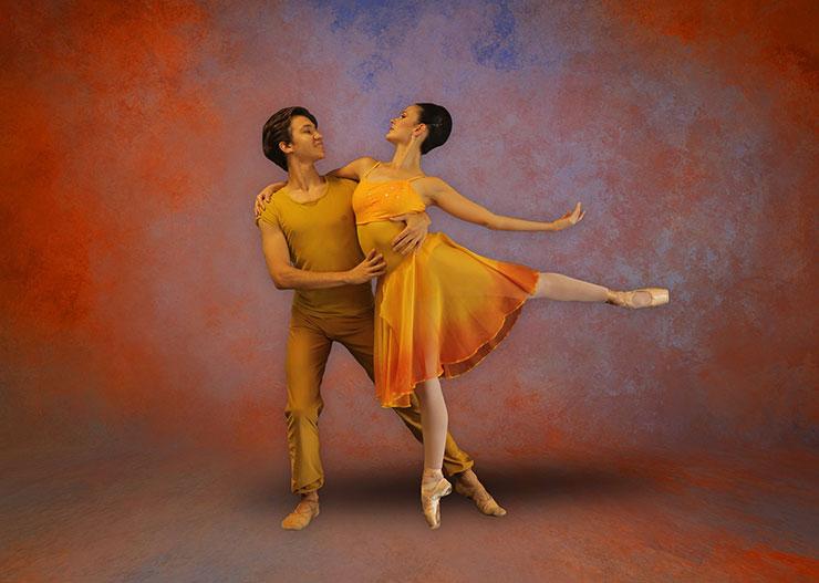 Maryel Martinez and Alexey Minkin portraying