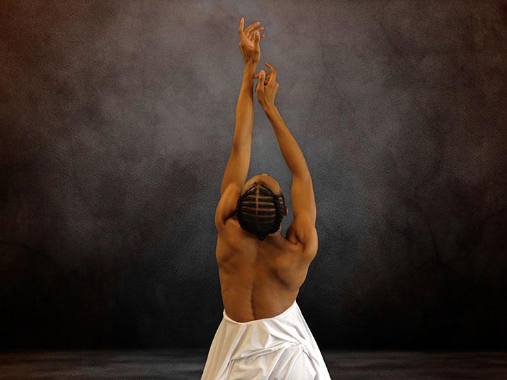 Daniel White in the ballet